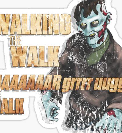 Walking, Talking Zombies Sticker
