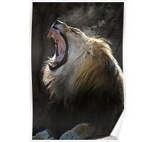 Yawning King Poster