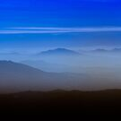 Mountain view - through the fog by justfunphotos