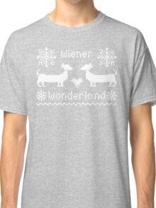 Wiener Wonderland in Festive Red Classic T-Shirt