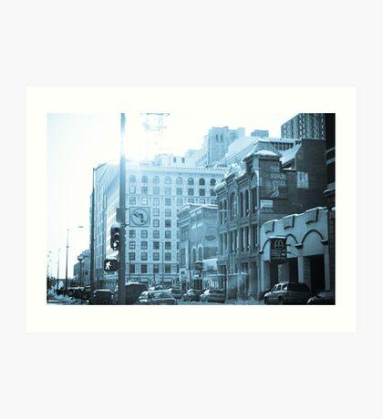 Architecture of Denver Art Print
