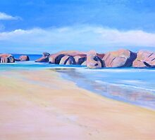 South West Coast Rocks # 1 NSW  by Virginia McGowan