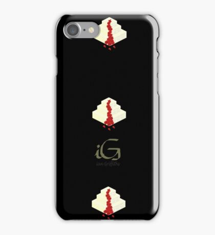 Wedding cake with flowers phone cover  iPhone Case/Skin