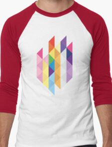 My Little Pony - Mane Six Abstraction I Men's Baseball ¾ T-Shirt
