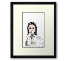 Elvira or Vampira  Framed Print