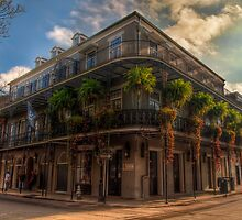 French Quarter Corner by Mari  Wirta