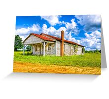 Old Country Store - Rural Georgia Landscape Greeting Card