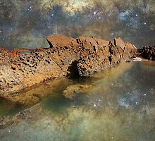 Space Rock - New South Wales Coast by Barry Armstead