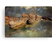 Space Rock - New South Wales Coast Canvas Print