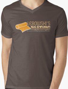 Lebowski's Rug Emporium Mens V-Neck T-Shirt