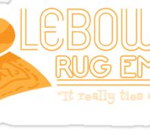 Lebowski's Rug Emporium Sticker