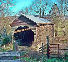 Beidler Farm Covered Bridge by James Brotherton