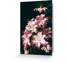 Tower of Lilies Greeting Card