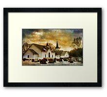 The Community Church Framed Print