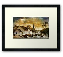 The Community Church Framed Print