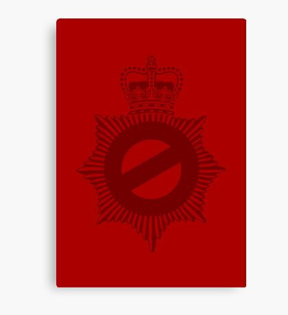 Not My Division - Badge Only Edition Canvas Print