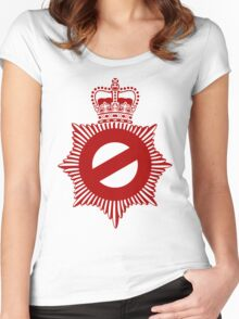 Not My Division - Badge Only Edition Women's Fitted Scoop T-Shirt