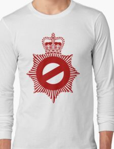 Not My Division - Badge Only Edition Long Sleeve T-Shirt