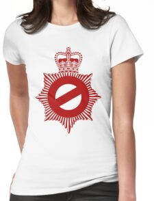 Not My Division - Badge Only Edition Womens Fitted T-Shirt