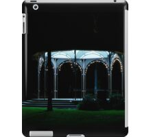 after the show - lonely rotunda iPad Case/Skin
