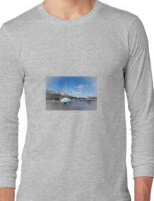 Tenby Beach  Long Sleeve T-Shirt