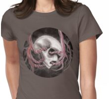Skull Impression I Womens Fitted T-Shirt