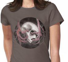 Skull Impression I Womens Fitted T-Shirt