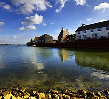 The Stour Estuary Manningtree Essex by Darren Burroughs