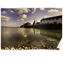The Stour Estuary Manningtree Essex England Poster