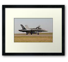 RAAF F/A-18 Hornet Framed Print