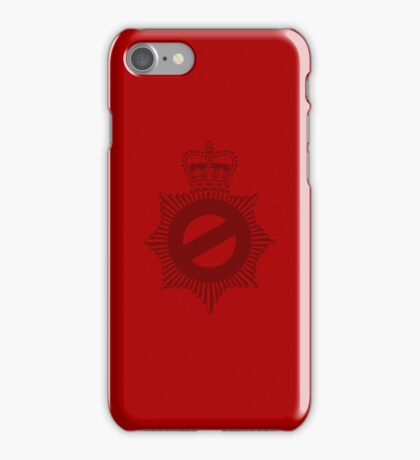 Not My Division - Badge Only Edition iPhone Case/Skin