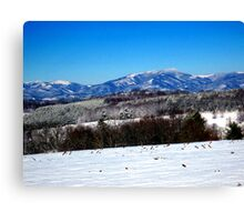 snow on point lookout Canvas Print