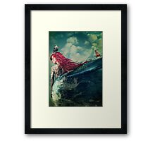 This is the Sea Framed Print
