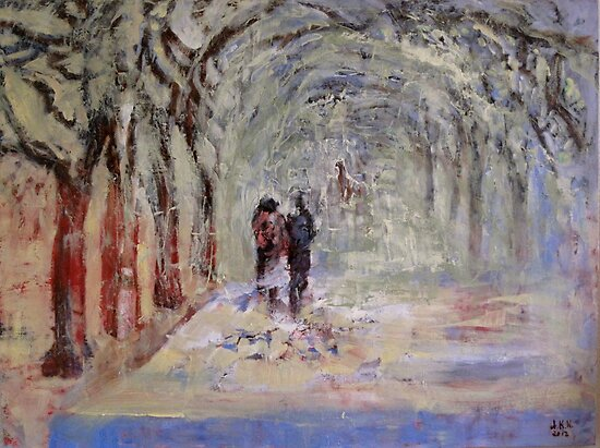Walk in the Park by Anett  Kilen Kennedy