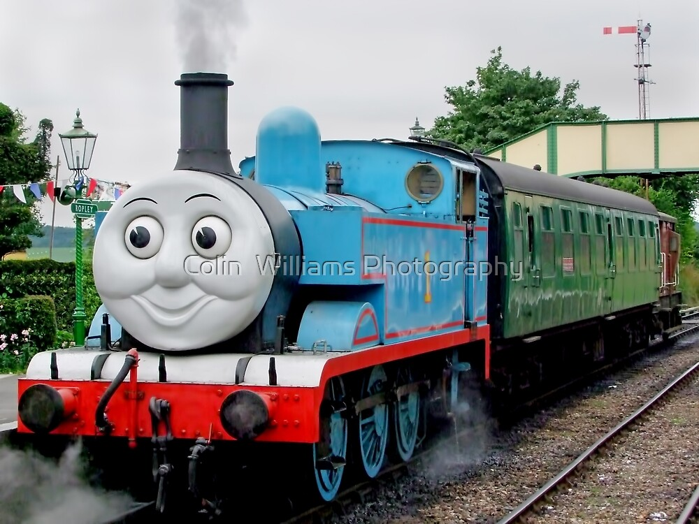 Thomas Waits For His Passengers ! by Colin  Williams Photography