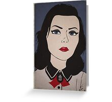 Bioshock Infinite - Elizabeth - Burial At Sea Greeting Card