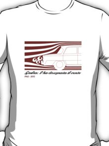 Alfa Romeo Giulia: l'ha disegnata il vento (designed by the wind) T-Shirt