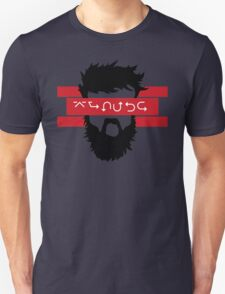Bearded Wingdings Unisex T-Shirt