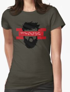Bearded Wingdings Womens Fitted T-Shirt
