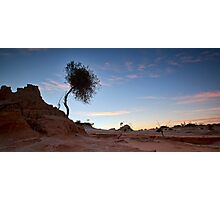 Morning Has Broken - Mungo, NSW Photographic Print