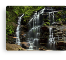 Sylvia Falls - Blue Mountains NP, NSW Canvas Print