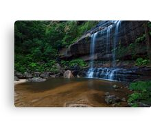 Wentworth Falls - The Base Canvas Print
