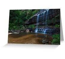Wentworth Falls - The Base Greeting Card