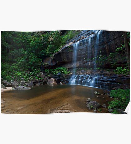 Wentworth Falls - The Base Poster