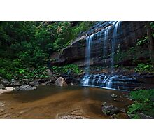 Wentworth Falls - The Base Photographic Print