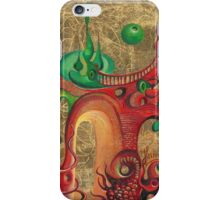 """""""Gate of Red Dragon"""" from the series """"Gold Fairytale """" iPhone Case/Skin"""