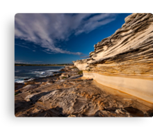 Sculptured by Nature - Maroubra Beach, NSW Canvas Print