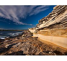 Sculptured by Nature - Maroubra Beach, NSW Photographic Print