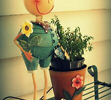 Mr Flowerpot Man by Karen Tregoning