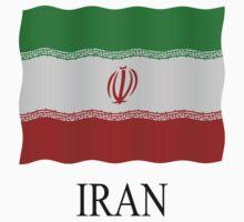 Flag IR Iran by stuwdamdorp